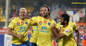 FC Pune and Kerala Blasters ends at 1-1 draw
