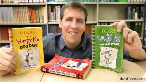 Author Jeff Kinney - dailylifedose.com