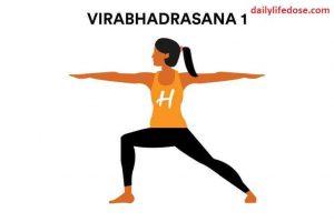 Veerabhadrasana - Daily Life Dose
