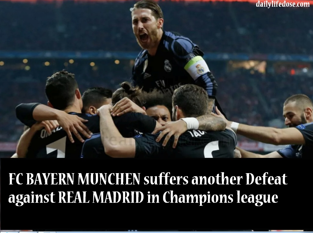 Bayern Munich 1 Read Madrid 2
