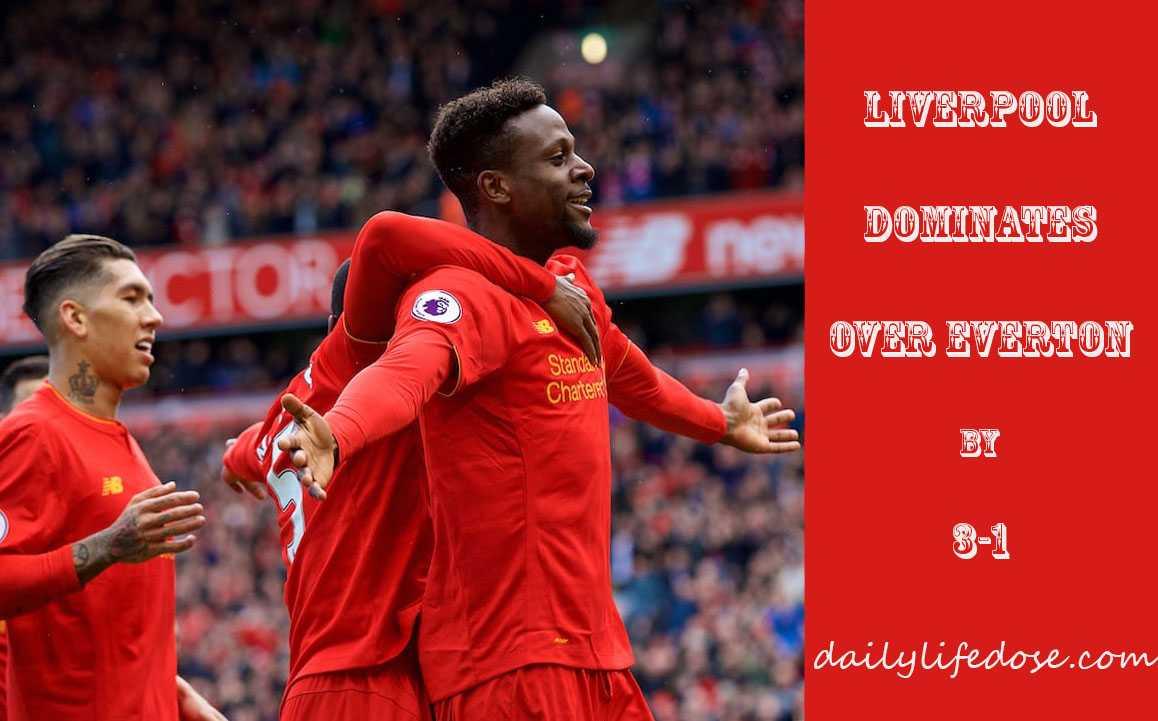 LIVERPOOL DOMINATES OVER EVERTON YET AGAIN
