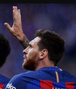 Lionel Messi COPA DEL REY CUP