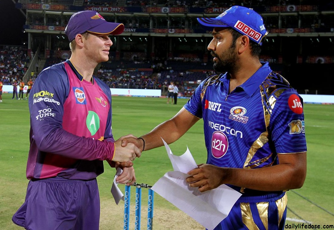 Mumbai Indians and Rising Pune supergiant