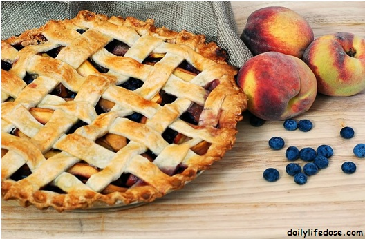 Peach Blackberry Pie Recipe