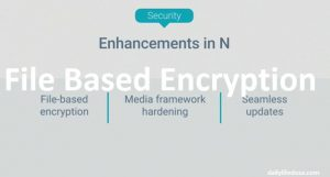 Androids Nougats File Based Encryption