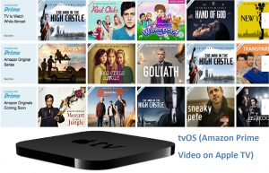 tvOS (Amazon Prime Video on Apple TV)