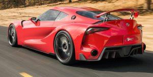 Toyota Supra 2017 top speed car