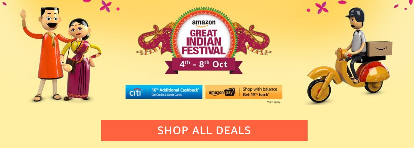 Great Deals on Gadgets- Festive Offer Amazon Echo, LG, Xiaomi, OnePlus & Samsung