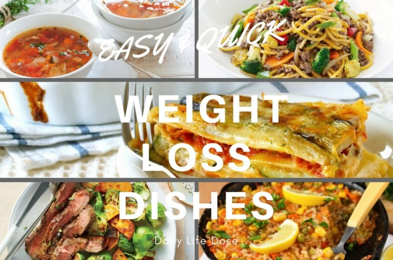 Easy & Quick Weight Loss Dishes – Healthy Food Recipe 1
