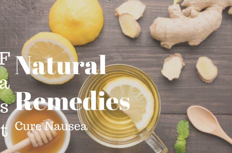 Home Nausea Remedies