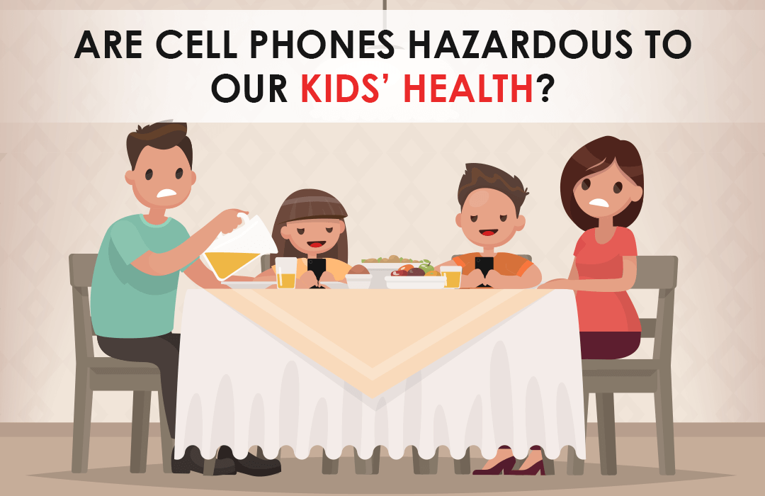 Are Mobile Phones Radiation Effects Our Kids Health