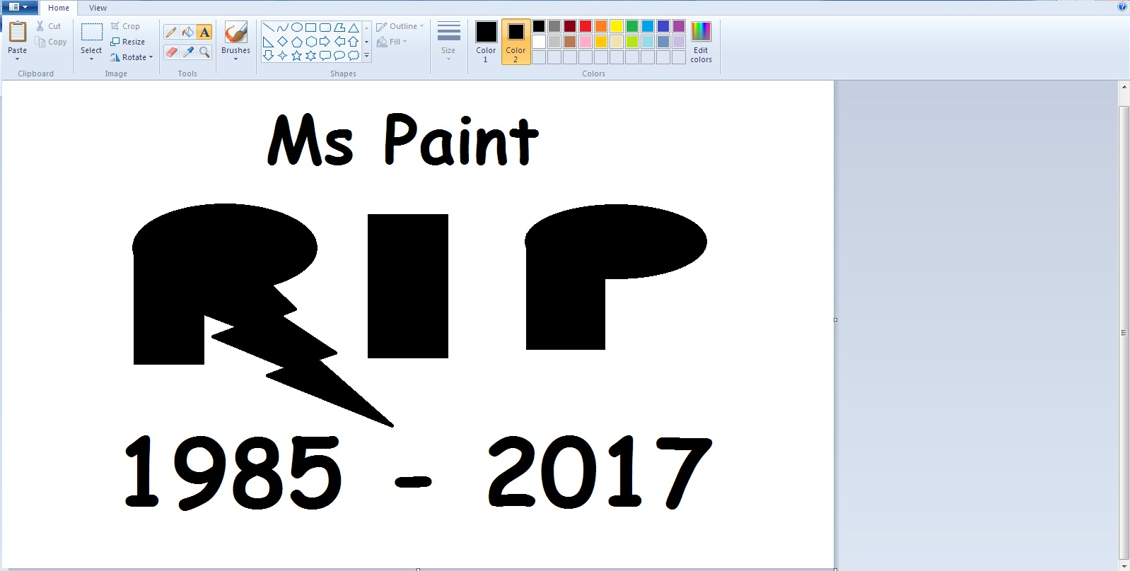 Microsoft is Shutting Down Paint in the Windows 10 Fall Creators Update