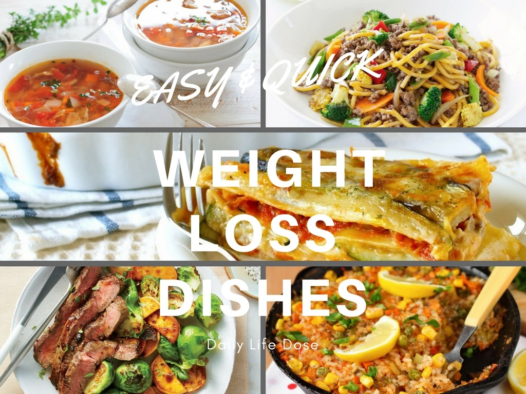 Easy Quick Weight Loss Dishes Healthy Food Recipe Daily Life Dose